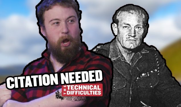 Jack Churchill and a Live Studio Audience: Citation Needed 6×01