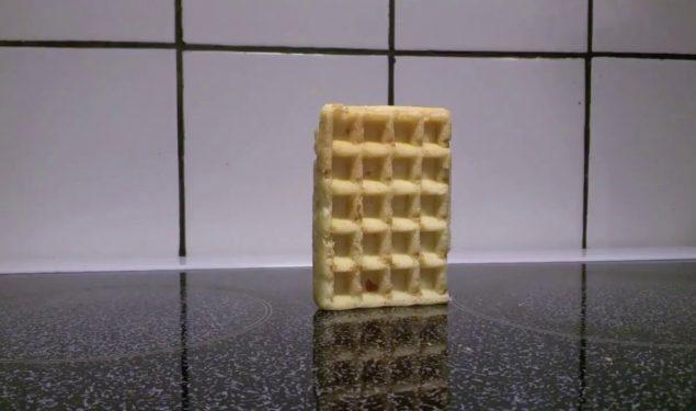Waffle x Explosion meme