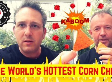 THE WORLD'S HOTTEST CORN CHIPS – Chilli Seed Bank – Carolina Reaper, Scorpion & Bhut Jolokia Peppers