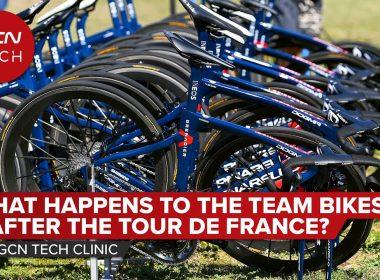 What Happens To The Team Bikes After The Tour de France? | GCN Tech Clinic #AskGCNTech